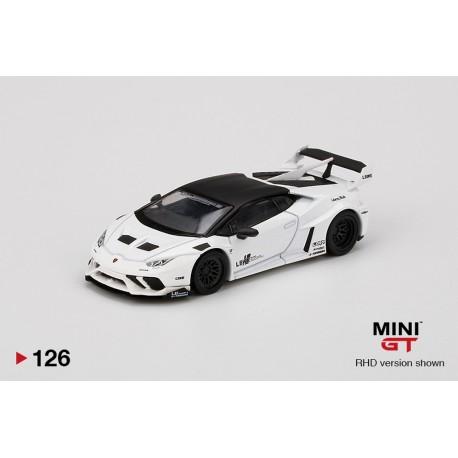 MINI GT MGT00126-L LAMBORGHINI Huracán GT LB?WORKS White