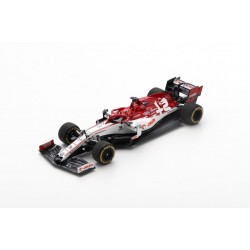 SPARK S6454 ALFA ROMEO Racing Orlen C39 N°88 Alfa Romeo Sauber F1 Team Pre-Test Formula One 2020 Robert Kubica