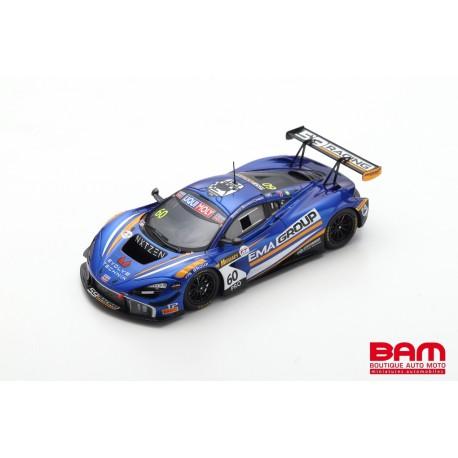 SPARK AS045 MCLAREN 720S GT3 N°60 59Racing/EMA Racing 2ème 12H Bathurst 2020 A. Parente - B. Barnicoat - T. Blomqvist (500ex)