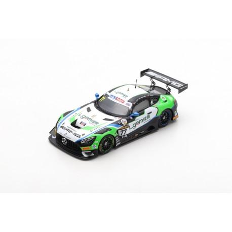 SPARK AS052 MERCEDES-AMG GT3 N°77 Mercedes-AMG Craft-Bamboo 5ème 12H Bathurst 2020 M. Engel - L. Stolz - Y. Buurman (300ex)