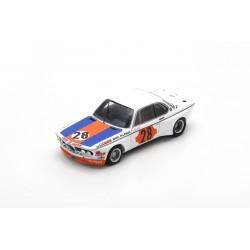 SPARK SB226 BMW CSL N°28 Vainqueur Gr.2 Coupes de Spa 1973 Niki Lauda (750ex)