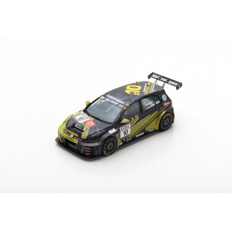 SPARK SG460 VOLKSWAGEN Golf GTI TCR N°10 Max Kruse Racing -Vainqueur TCR Class VLN4 2019 -B. Leuchter - A. Gülden (300ex)