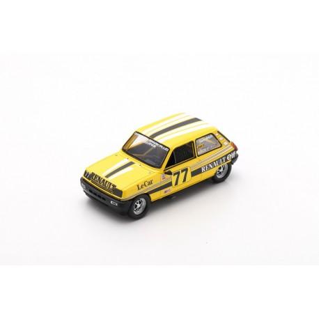SPARK US059 RENAULT 5 N°77 IMSA RS 1980 -Patrick Jacquemart (400ex)