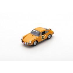 SPARK S6605 PORSCHE 911S N°43 Rallye Monte Carlo 1967 -A. Aarnio Wihuri - L. Laakso