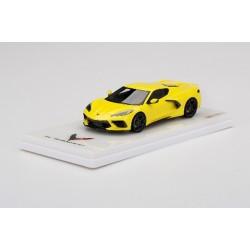 TRUESCALE TSM430496 CHEVROLET Corvette Stingray -Accelerate Yellow Metallic