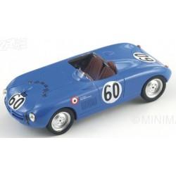 BIZARRE BZ469 MONOPOLE Panhard X84 n°60 24H Le Mans 1952 J. Hemar