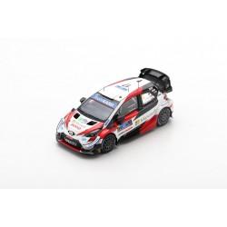 SPARK S6571 TOYOTA Yaris WRC TOYOTA GAZOO Racing WRT N°17 -Vainqueur Rallye Guanajuato México 2020 -S. Ogier - J. Ingrassia