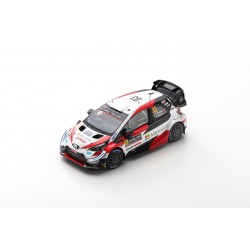 SPARK S6568 TOYOTA Yaris WRC TOYOTA GAZOO Racing WRT N°33 -Vainqueur Rallye Suède 2020 E. Evans - S. Martin