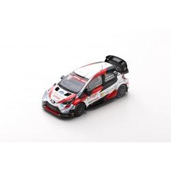SPARK S6567 TOYOTA Yaris WRC TOYOTA GAZOO Racing WRT N°1 -Vainqueur Rallye Arctic Lapland 2020 -K. Rovanperä - J. Halttunen