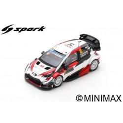 SPARK S6556 TOYOTA Yaris WRC TOYOTA GAZOO Racing WR N°18 -Rallye Monte Carlo 2020 T. Katsuta - D. Barritt