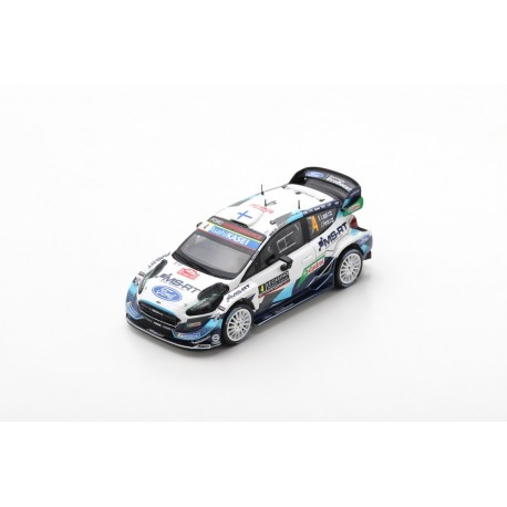 SPARK S6553 FORD Fiesta WRC M-Sport Ford WRT N°4 -Rallye Monte Carlo 2020 E. Lappi - J. Ferm