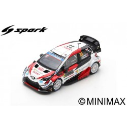 SPARK S6552 TOYOTA Yaris WRC TOYOTA GAZOO Racing WR N°33-3ème Rallye Monte Carlo 202 E. Evans - S. Martin