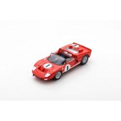 SPARK 18SE66 MK2 n°1 Vainqueur 12h Sebring 1966- K. Miles - L. Ruby (1/18)