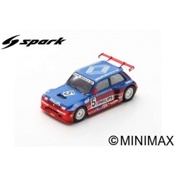SPARK SF054 RENAULT 5 Maxi Turbo Superproduction N°5 1987 -Jean-Louis Bousquet (500ex)