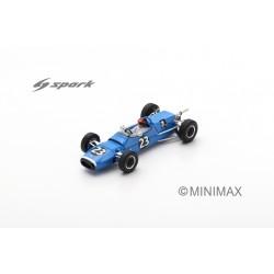 SPARK SF188 MATRA MS5 N°23 Vainqueur Coupe du Printemps F3 -Nogaro 1967 Roby Weber (300ex)