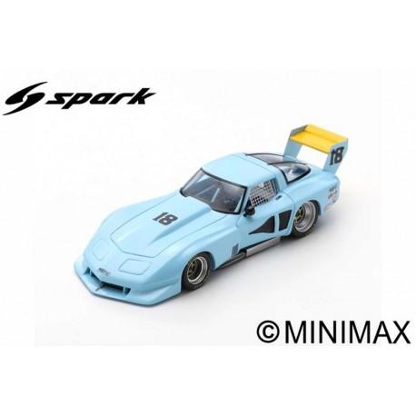 SPARK US048 CHEVROLET Corvette C3 N°18 Road Atlanta April 1978 -John Paul (500ex)