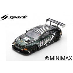 SPARK US063 Bentley Continental GT3 N°9 KPax Racing 8H Californie 2018 R. Baptista - A. Parente - B. Sellers (300ex)
