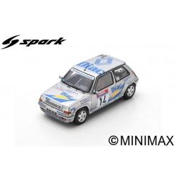 SPARK S5556 RENAULT 5 GT Turbo N°14 Tour de Corse -Rallye de France 1990- J. Ragnotti - G. Thimonier