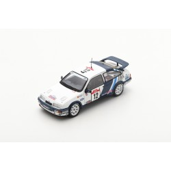 SPARK S8706 FORD Sierra RS Cosworth N°12 Tour de Corse -Rallye de France 1988- C. Sainz - L. Moya