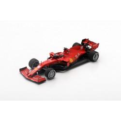 LOOKSMART LS1F1028 FERRARI Scuderia SF100 N°16 test Barcelone 2020 -Charles Leclerc (1/43)