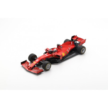 LOOKSMART LS18F1027 FERRARI Scuderia SF100 N°5 test Barcelone 2020 -Sebastian Vettel (1/18)