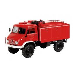 SCHUCO 03395 MERCEDES BENZ - UNIMOG 404S FIRE ENGINE - VIGILI DEL FUOCO 1.43