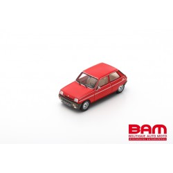 MILEZIM By Spark Z0084 RENAULT 5 Alpine Turbo 1982- Rouge