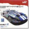 SIMILR 141002 FORD GT MATECH N°60 /61 LM 2010