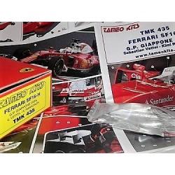 TAMEO TMK435 Ferrari SF16-H Banco Santander #5, 6