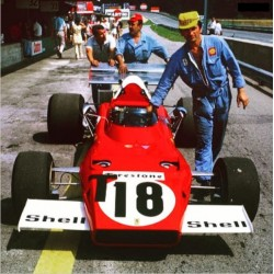 TAMEO TMK366 FERRARI F1 312B 1970 ICKX