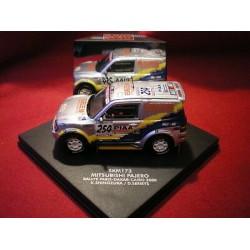 "VITESSE SKM173 MITSUBISHI PAJERO ""team nisseki"" Paris Dakar Cairo 2000"
