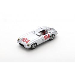 SPARK 43TF55 MERCEDES-BENZ 300 SLR N°104 Vainqueur Targa Florio 1955 Stirling Moss - Peter Collins