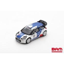 SPARK SF170 CITROEN DS3 WRC N°77 Vainqueur Rallye Circuit Côte d'Azur 2019 V. Bottas - M. Salminen (300ex)