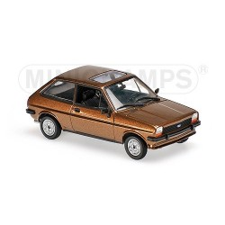 minichamps 940085101 Ford Fiesta 1976 Brune claire