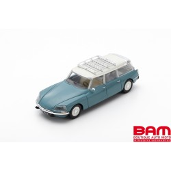 MILEZIM Z0068 CITROEN ID 19 BREAK COMMERCIALE BLEUE 1968