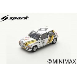 SPARK S5565 RENAULT 5 GT Turbo N°19 Rallye Monte Carlo 1989 Alain Oreille - Gilles Thimonier