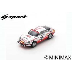 SPARK S6112 ALPINE A110 N°39 Rallye Monte Carlo 1973 Claude Ballot-Léna - Jean-Claude Morenas