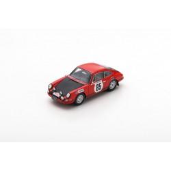 SPARK S6608 PORSCHE 911 T N°85 Rallye Monte Carlo 1969 Buffum John - Behr Stephen