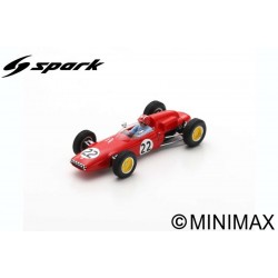 SPARK S7117 LOTUS 21 N°22 GP Belgique 1962 Jo Siffert