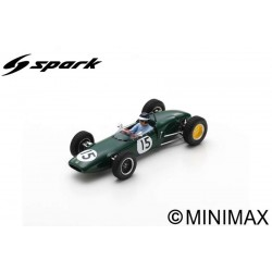 SPARK S7118 LOTUS 21 N°15 3ème GP Pays-Bas 1961 Jim Clark