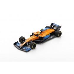 SPARK S6469 MCLAREN MCL35 N°4 McLaren F1 Team 3ème GP Autriche 2020 Lando Norris