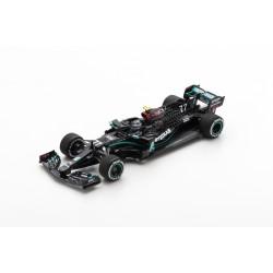 SPARK S6466 MERCEDES-AMG F1 W11 EQ Performance N°77 Mercedes-AMG Petronas Formula One Team Vainqueur GP Autriche 2020