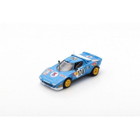 SPARK S9097 LANCIA Stratos HF N°174 Vainqueur Tour de France 1977- B. Darniche - A. Mahé