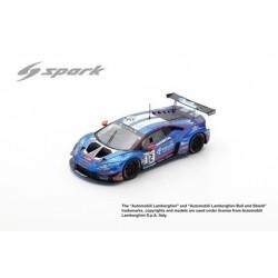 SPARK SB314 LAMBORGHINI Huracán GT3 Evo N°12 Ombra Racing 24H Spa 2019 D. Dupont - S. Gattuso - C. Lewis - D. Stoneman (300ex)