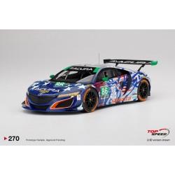 """TOP SPEED TS0270 ACURA NSX GT3 N°86 """"Uncle Sam"""" 2017 IMSA Championship Watkins Glen J.Segal - O.Negri Jr."""