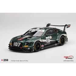 TOP SPEED TS0259 BENTLEY Continental GT3 N°107 M-Sport Team Bentley-24H SPA 2019 J. Pepper - S.Kane - J. Gounon