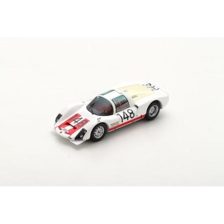 SPARK 43TF66 PORSCHE 906 N°148 Vainqueur Targa Florio 1966 W. Mairesse - H. Müller