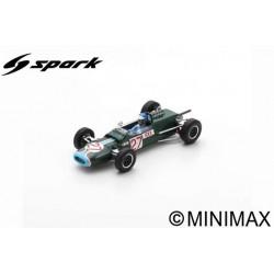 SPARK S4309 MATRA MS5 N°27 F2 GP Allemagne 1966 Jacky Ickx