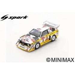SPARK S5192 AUDI Sport quattro S1 E2 N°5 Vainqueur Rallye Sanremo 1985 Walter Röhrl - Christian Geistdörfer