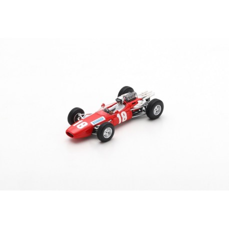 SPARK S5248 BRABHAM BT7 N°18 GP Angleterre 1966 Jo Bonnier